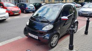 Smart kibica na pasie rowerowym. Kierowca złamał dwa przepisy