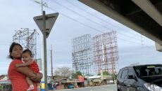 Ewakuacje na Filipinach (PAP/EPA/FRANCIS R. MALASIG)