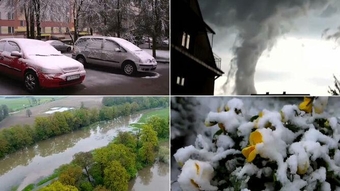 """Co oznacza zmiana klimatu? <br />""""Ekstrema stają się coraz częstsze"""""""