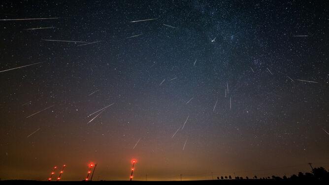 W nocy spójrzmy w niebo. W godzinę spadnie nawet 30 Orionidów