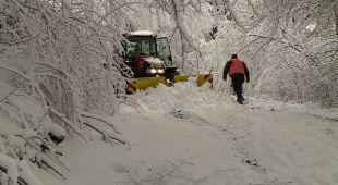 Zimowy paraliż w części kraju - materiał programu Fakty po Południu