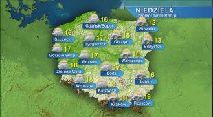 Pogoda na niedzielę 24.05